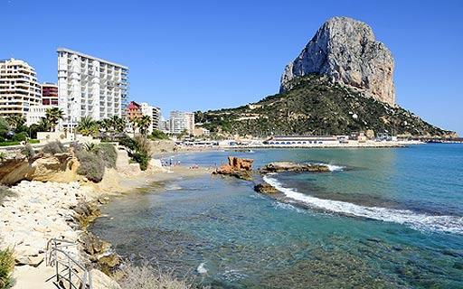 Calpe in Alicante, Valencia and Murcia