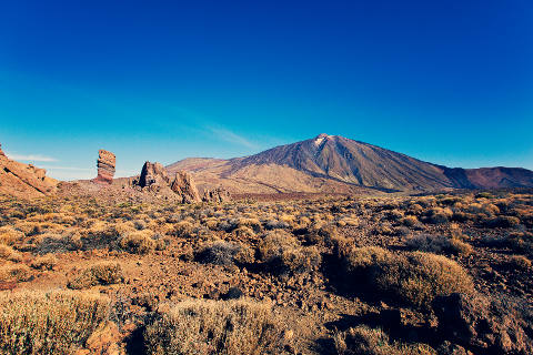 Park Teide in Tenerife, Canary Islands