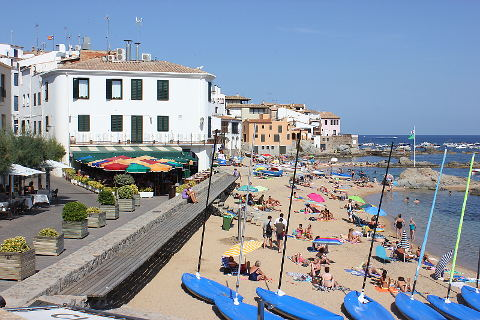 CalelladePalafrugell Spain a beautiful village on the Costa Brava