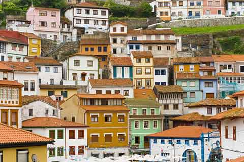 Photo of Cudillero (Asturias and Cantabria region)