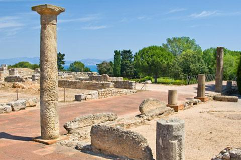 Photo of Empuries (Catalonia region)