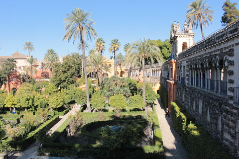 Photo of Alcazar of Seville (Andalucia region)