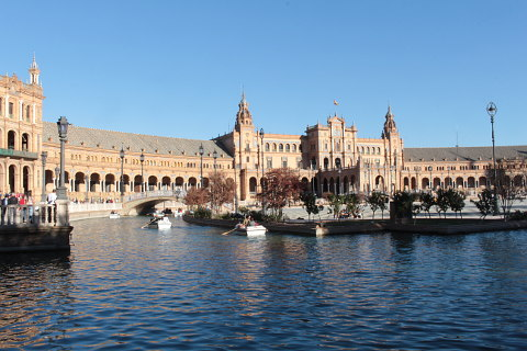 Photo of Seville - Plaza de Espana (Andalucia region)