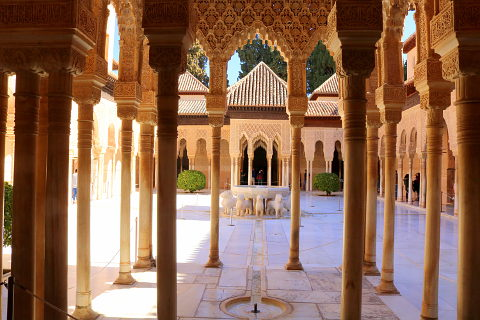 Court of Lions in the Alhambra Palace