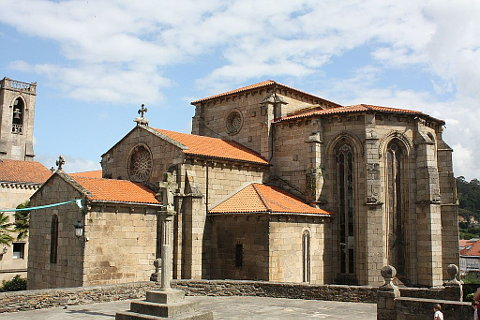 San Francisco church in Betanzos