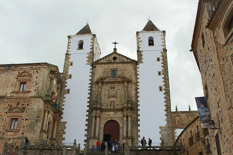 San Fransisco church in Caceres